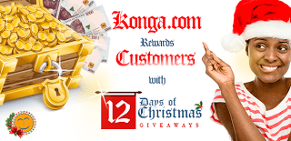 Konga 12 Days of Christmas Treasure hunt