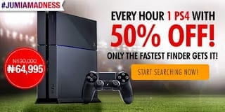 50% Off the Sony PS4