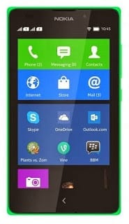 Nokia XL Android Smartphone