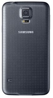 Samsung Galaxy S5 - rear view