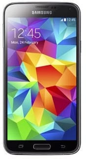 Samsung Galaxy S5 - Front View