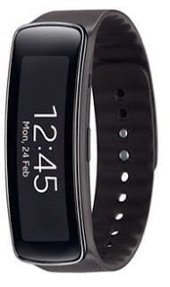 Samsung Gear Fit - Charcoal Black