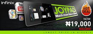 Infinix JoyPad 7 X700 at Konga