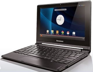 Lenovo A10 Mini Touch Android Laptop