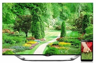 LG 60-inch LED TV LA8600 with G Pad 8.3