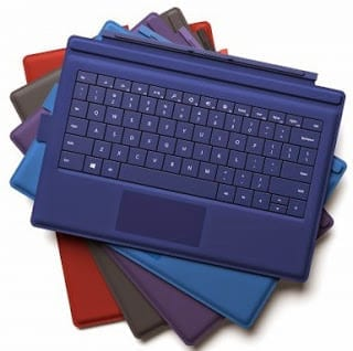 Surface Pro 3 Type Covers