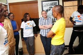 Paschal in Discussion with Konga Management