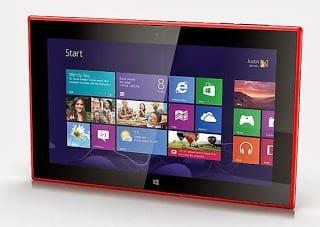 Nokia Lumia 2520 Windows RT 8.1 Tablet