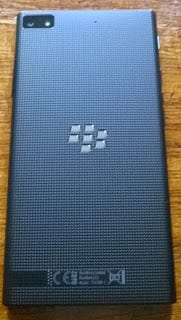 BlackBerry Z3 back view