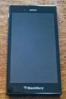 BlackBerry Z3 front view