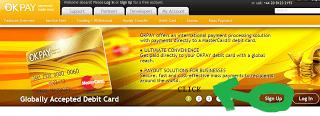 OKPAY Homepage