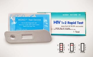 Mono HIV Rapid Diagnostic Test Kit