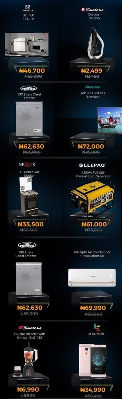Jumia Black Friday 2018 Deals