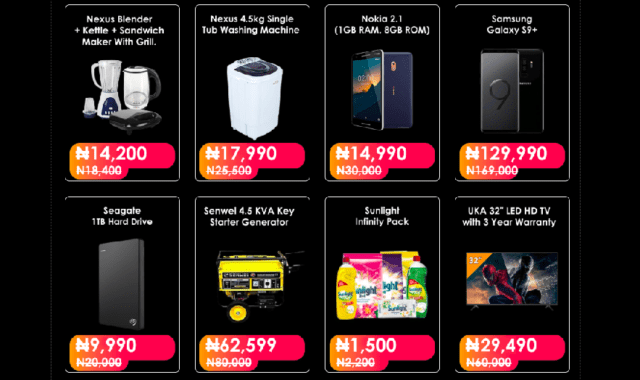 Jumia Black Friday 2019 Deals