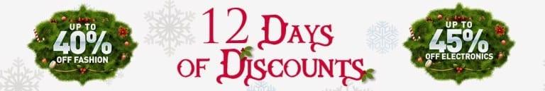 Konga 12 Days of Christmas Discounts