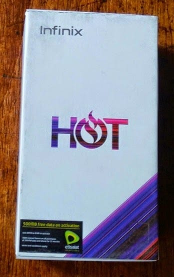 Infinix Hot Box Image