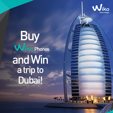Wiko Mobile Special Valentine Competition, Win All Expense Paid Trip to Dubia