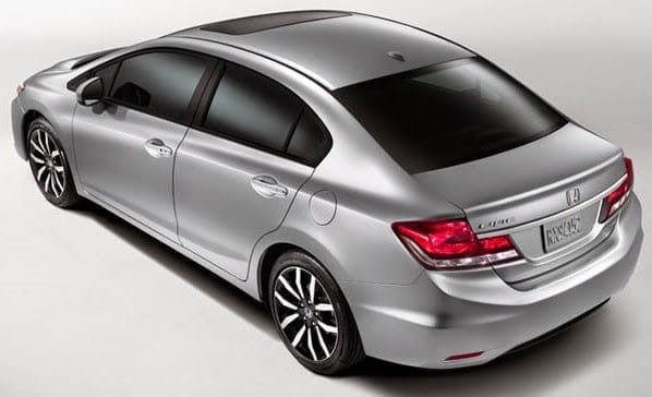 2015 Honda Civic Compact Sedan Specs & Price