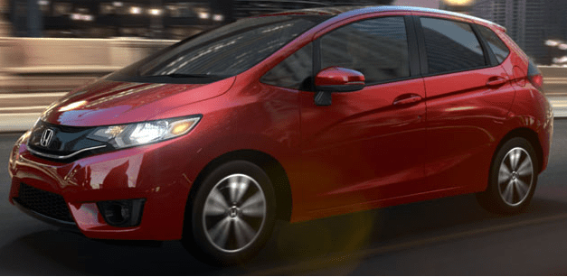 2015 Honda Fit Side and Front View