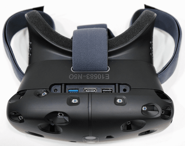 HTC Vive VR Top View