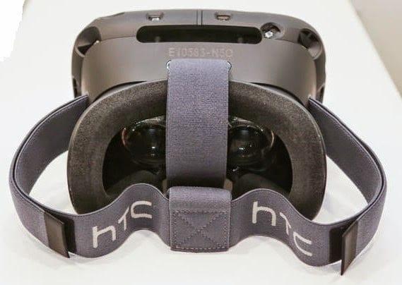 HTC Vive VR inside view