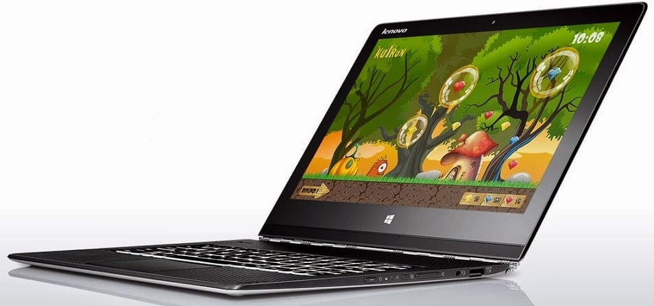 Lenovo Yoga 3 Pro in Laptop Mode