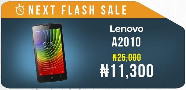 Jumia Mobile Week Flash Sale 5 Lenovo A2010 Image