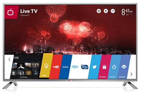 LG LB6520 WebOS Smart TV Series Specs & Price