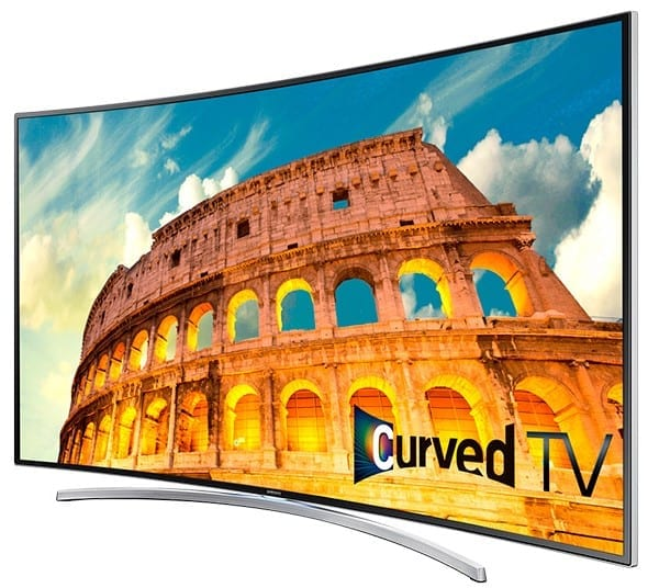 Samsung H8000 Curved Smart LED TV Series