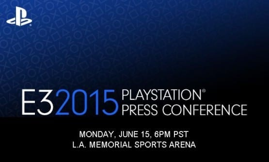 Sony E3 2015 Conference