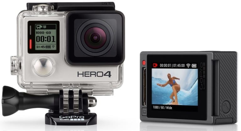 GoPro Hero4 Silver Action Camera Specs & Price