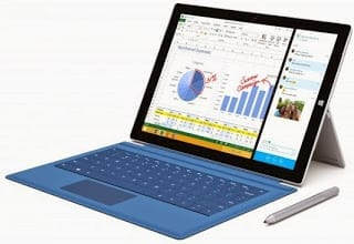 New Surface Pro 3 with Core i7 added by Microsoft