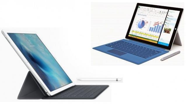 iPad Pro vs Surface Pro 3 – Compare