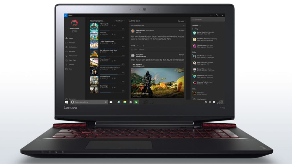 Lenovo Y700 17.3-inch Gaming Laptops
