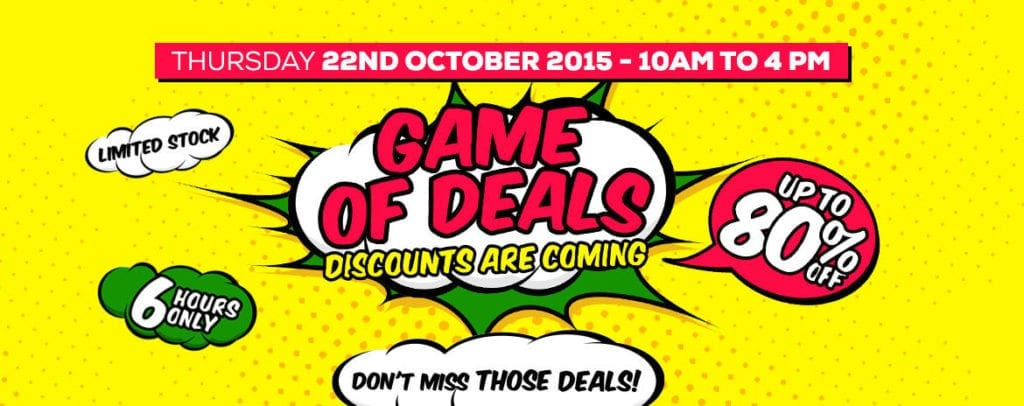Jumia Game of Deals for 6 Hours