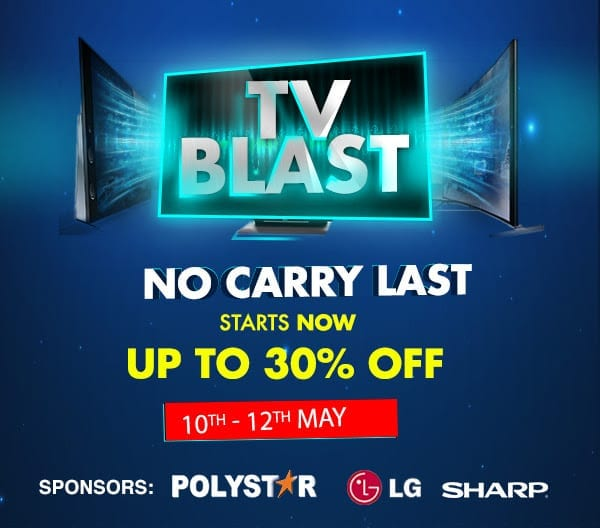 TV Deals on Jumia TV Blast