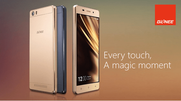 Gionee M5 Mini - Every Touch a Magic Moment