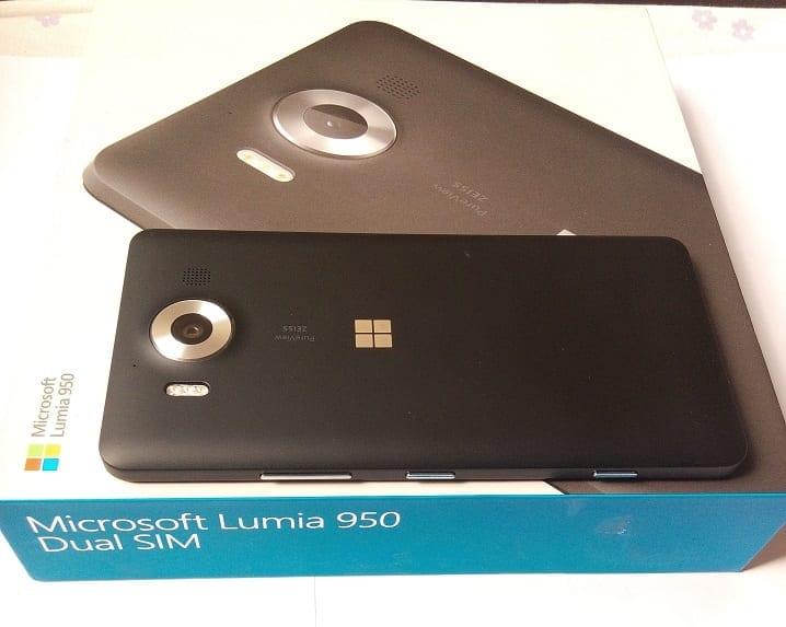Microsoft Lumia 950 Aerial View