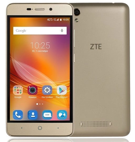 query zte x3 specs order was made