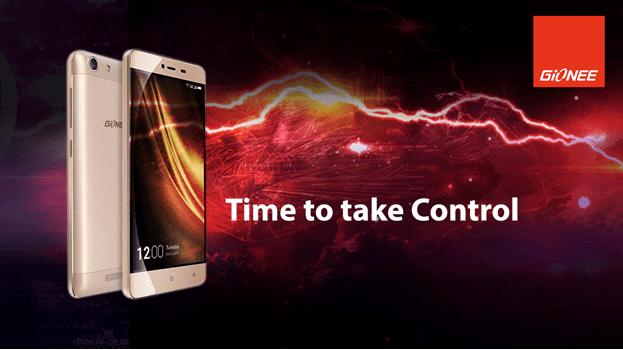 Gionee M5 Mini Time to Take Control