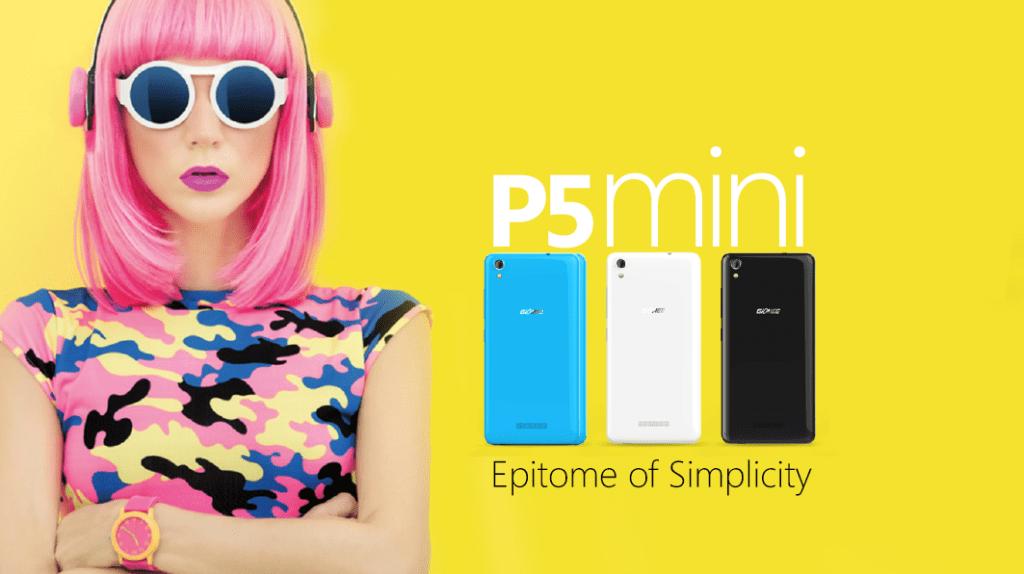 Gionee P5 Mini Beautiful Colours