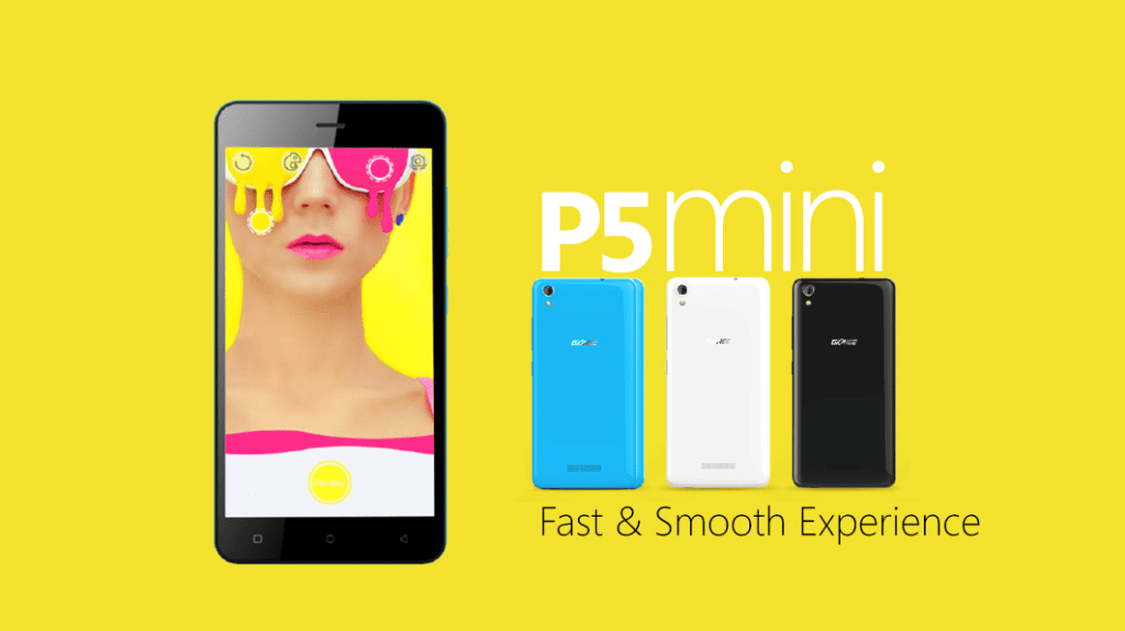Gionee P5 Mini Smooth Experience