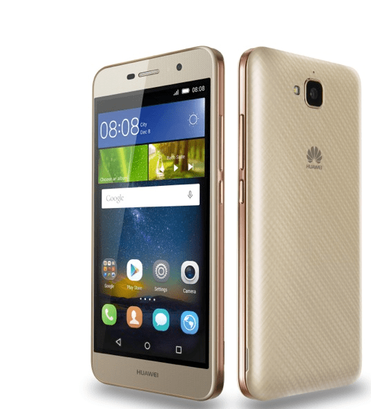 Huawei G Power Front and back