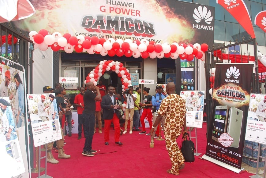 Huawei G Power Gamicon Experience