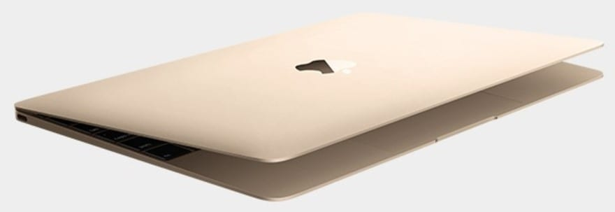 Apple MacBook 2016 Gold