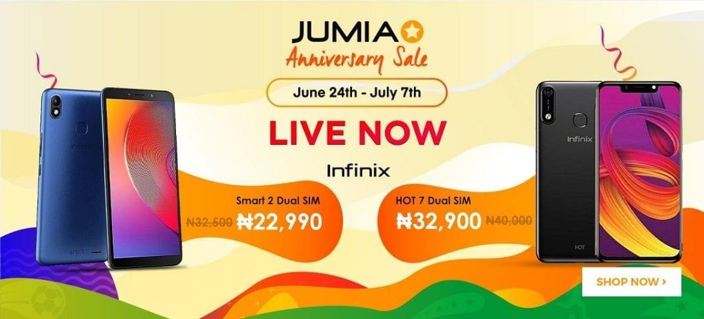 Jumia Anniversary Sale 2019