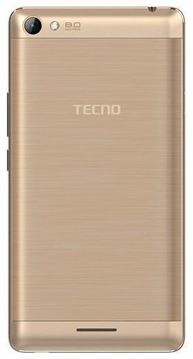 Tecno L8 back