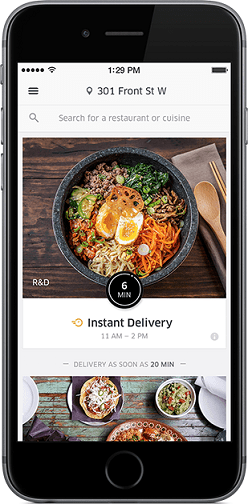 UberEats Food Order and Delivery Service