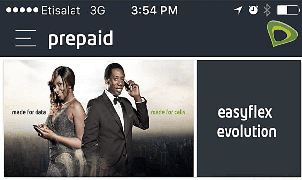 Etisalat EasyMobile Screenshot Image