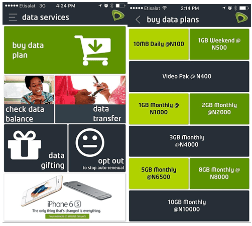 Etisalat EasyMobile App - Convenient Access to Mobile